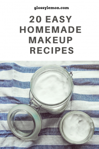 Tired of harmful chemicals in your makeup? Try out these 20 homemade makeup recipes!
