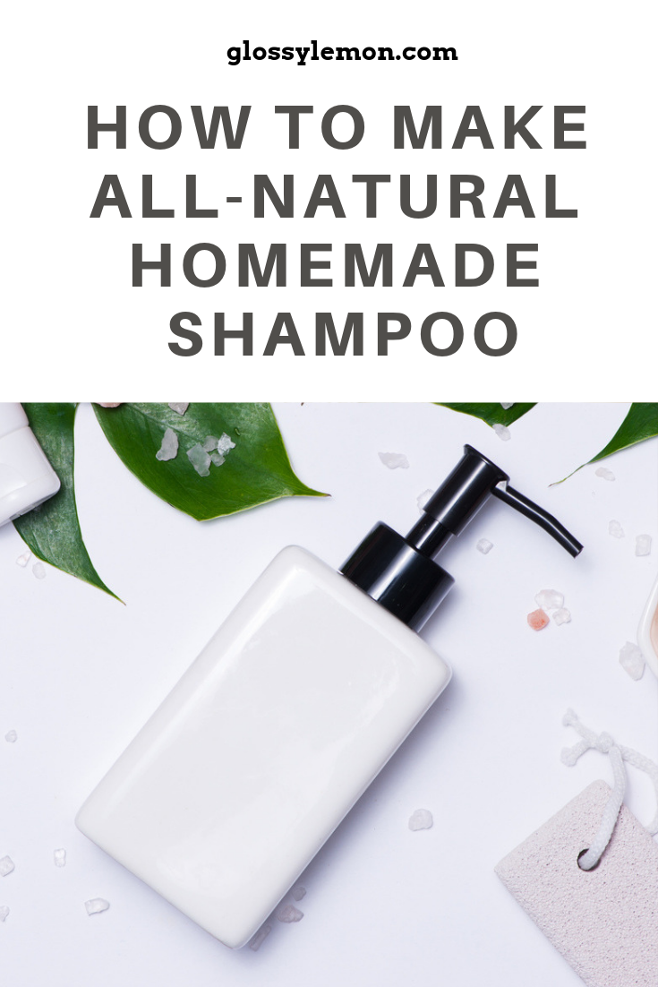 Tired of toxins in your beauty routine? Here's how to make all-natural, homemade shampoo. It's really easy!