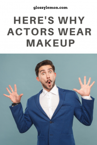 Here's why stage actors wear makeup.
