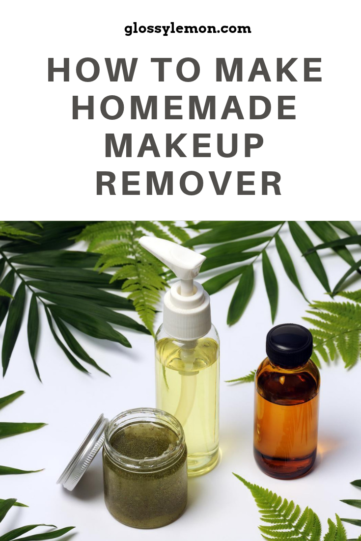 The quick and easy way to making all-natural homemade makeup remover.