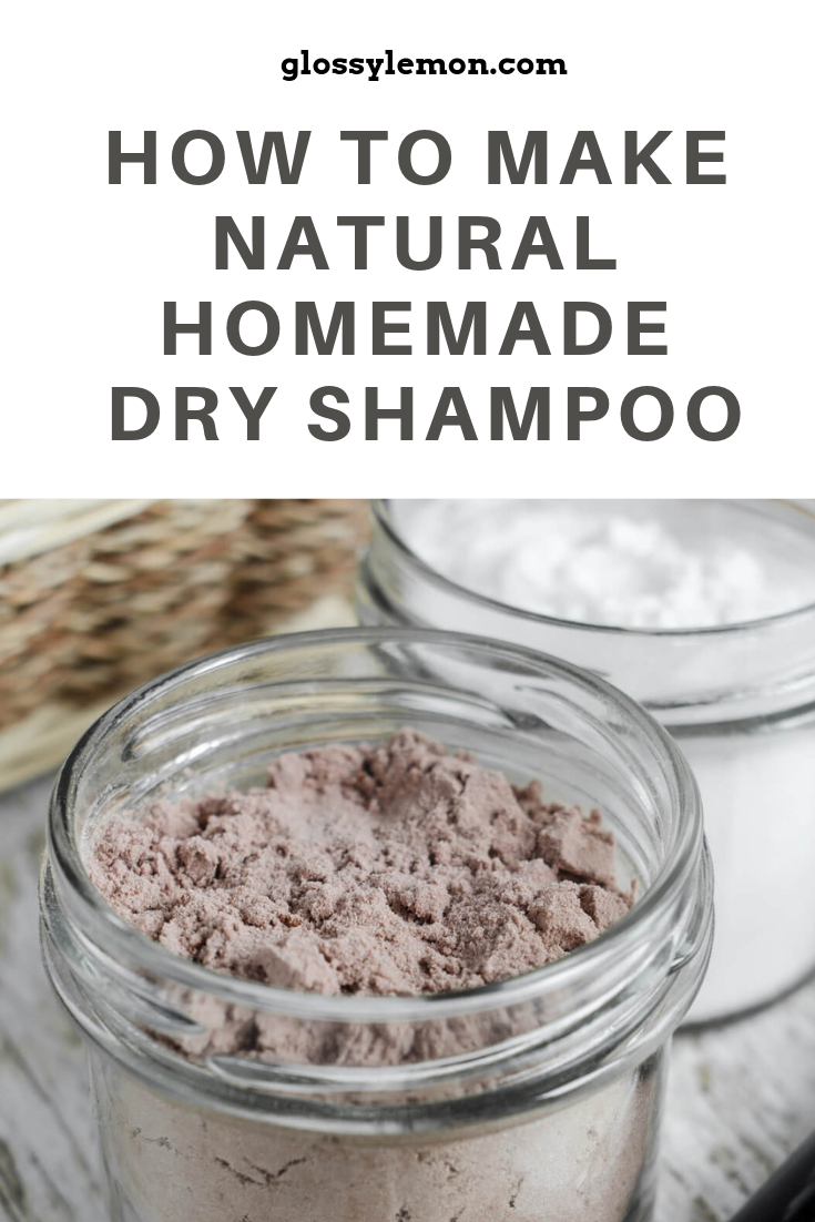 The quick and easy way to make homemade dry shampoo!