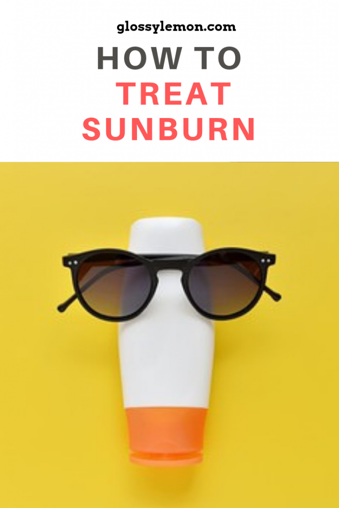 How to treat sunburn fast